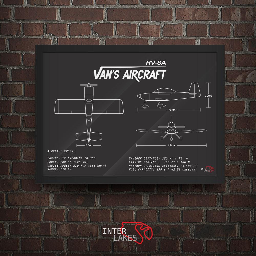 QUADRO/POSTER VAN'S AIRCRAFT RV-8A