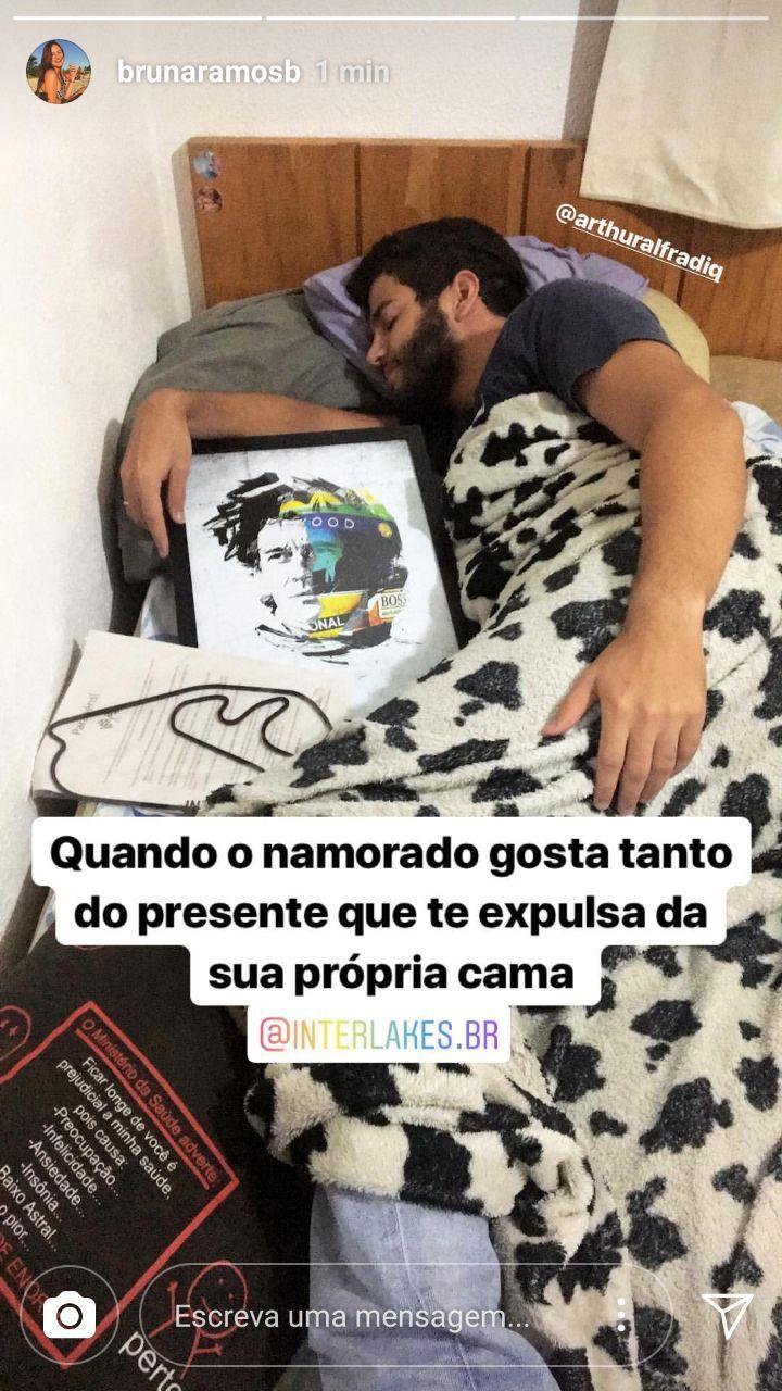 QUADRO/POSTER RETRATO AYRTON SENNA