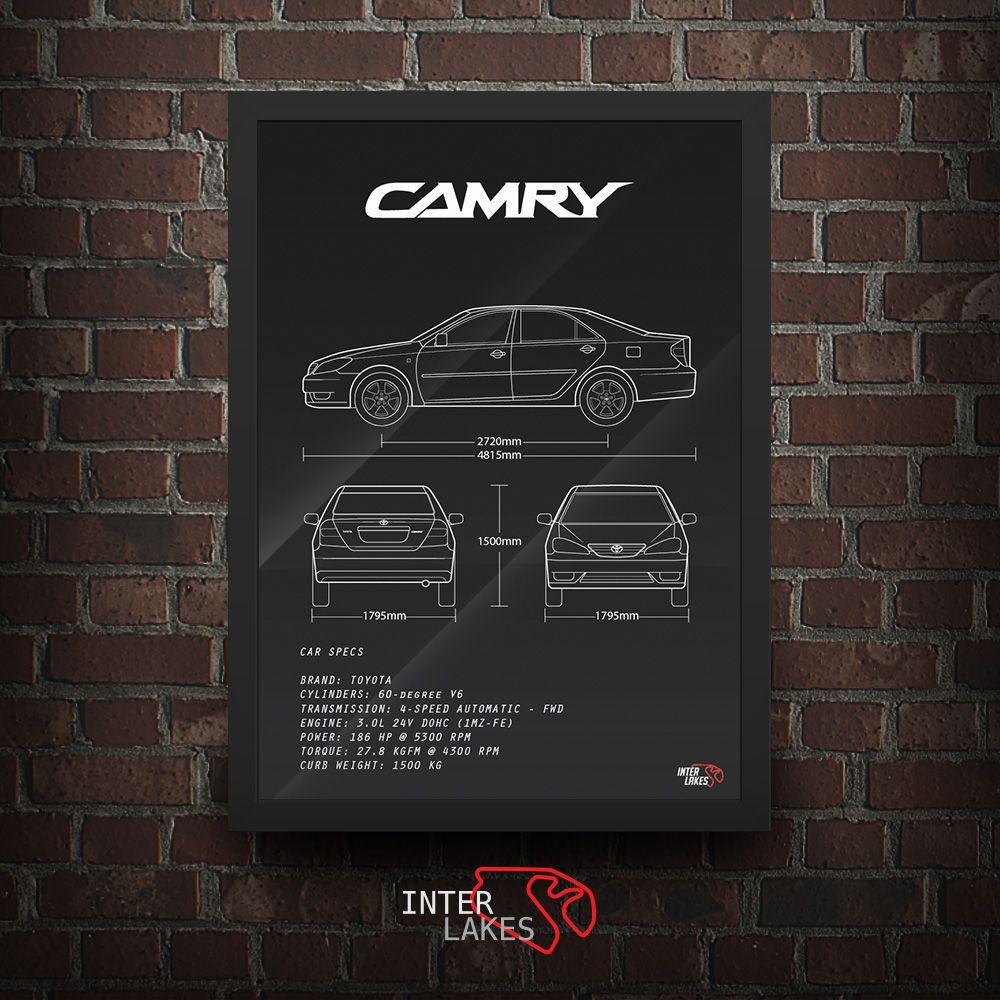 TOYOTA CAMRY XLE 3.0 V6 2005