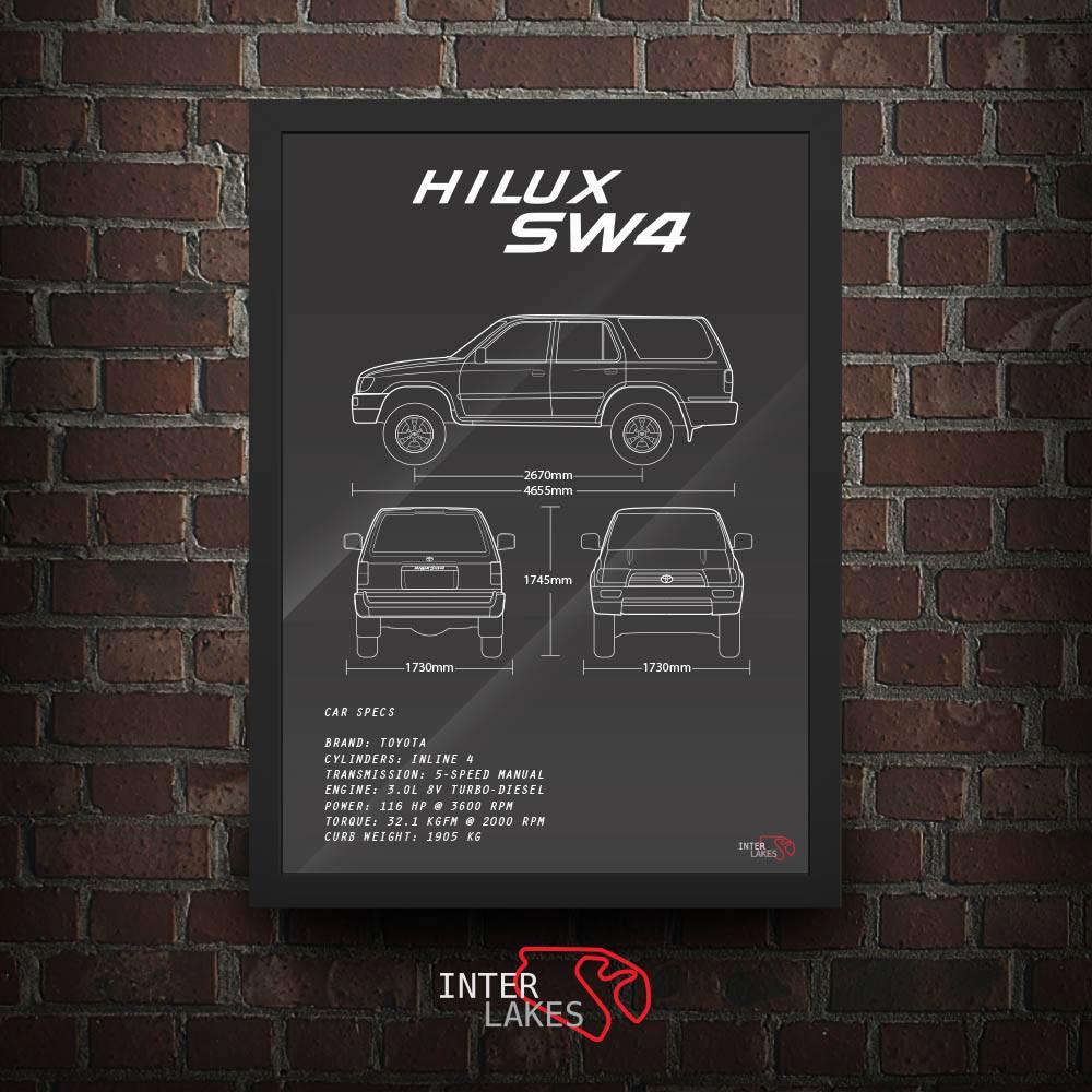 TOYOTA HILUX SW4 1998