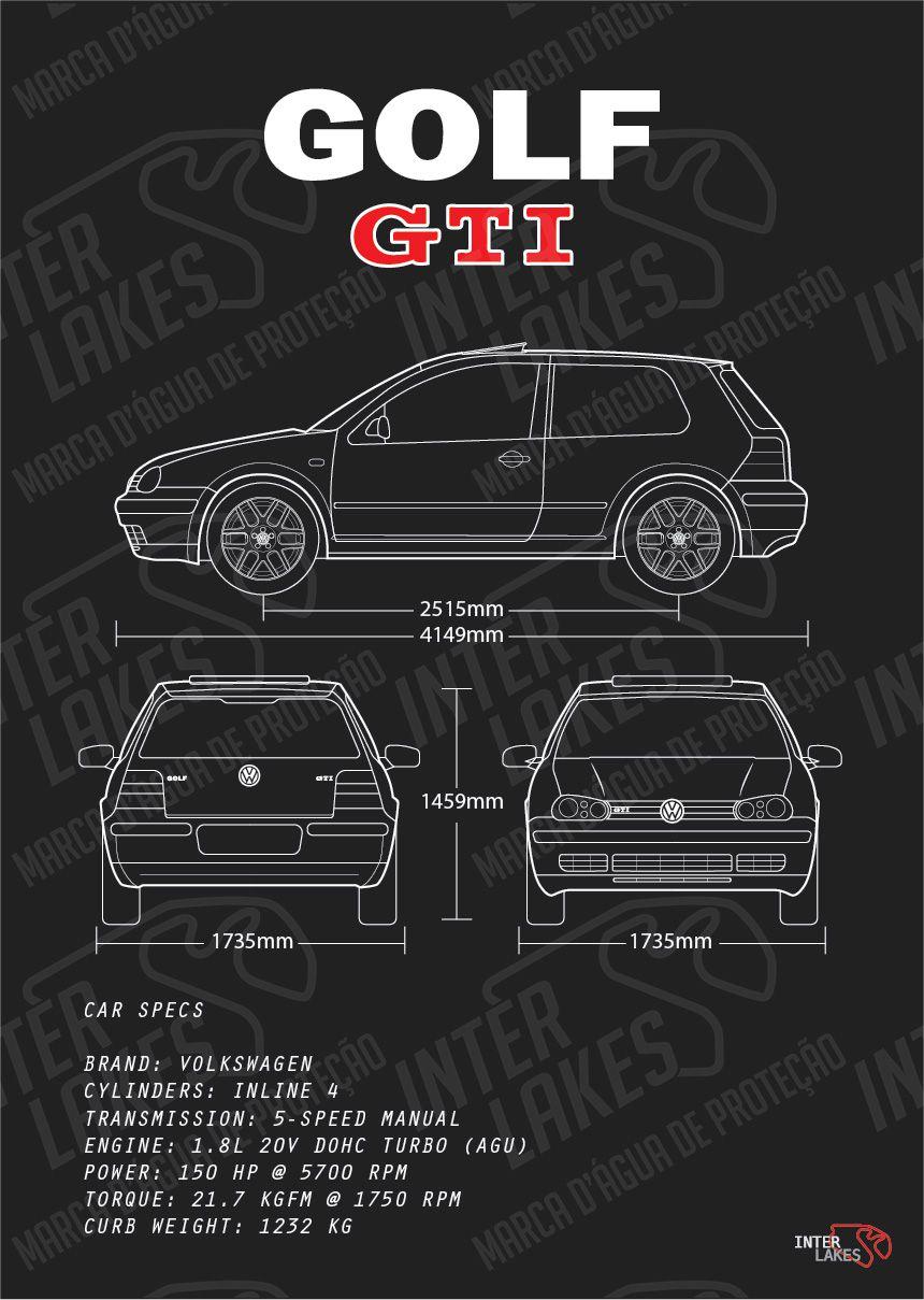 VOLKSWAGEN GOLF GTI MK4 2P