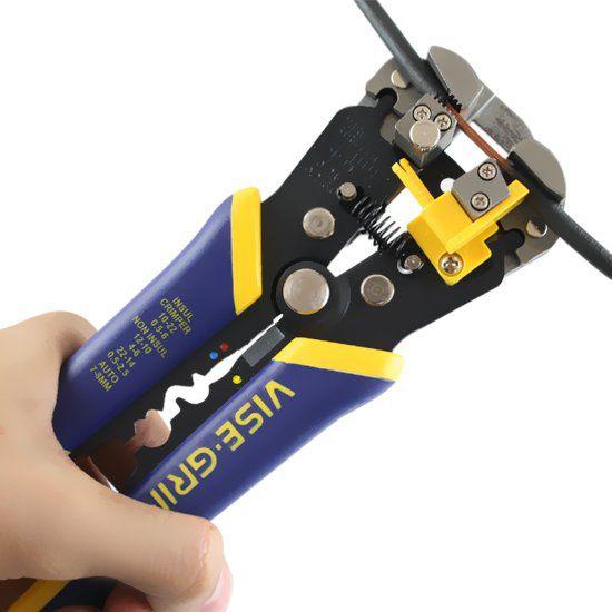 """Alicate Eletricista Decapador e Multi-uso para Fios 8"""" 2078300 Irwin"""