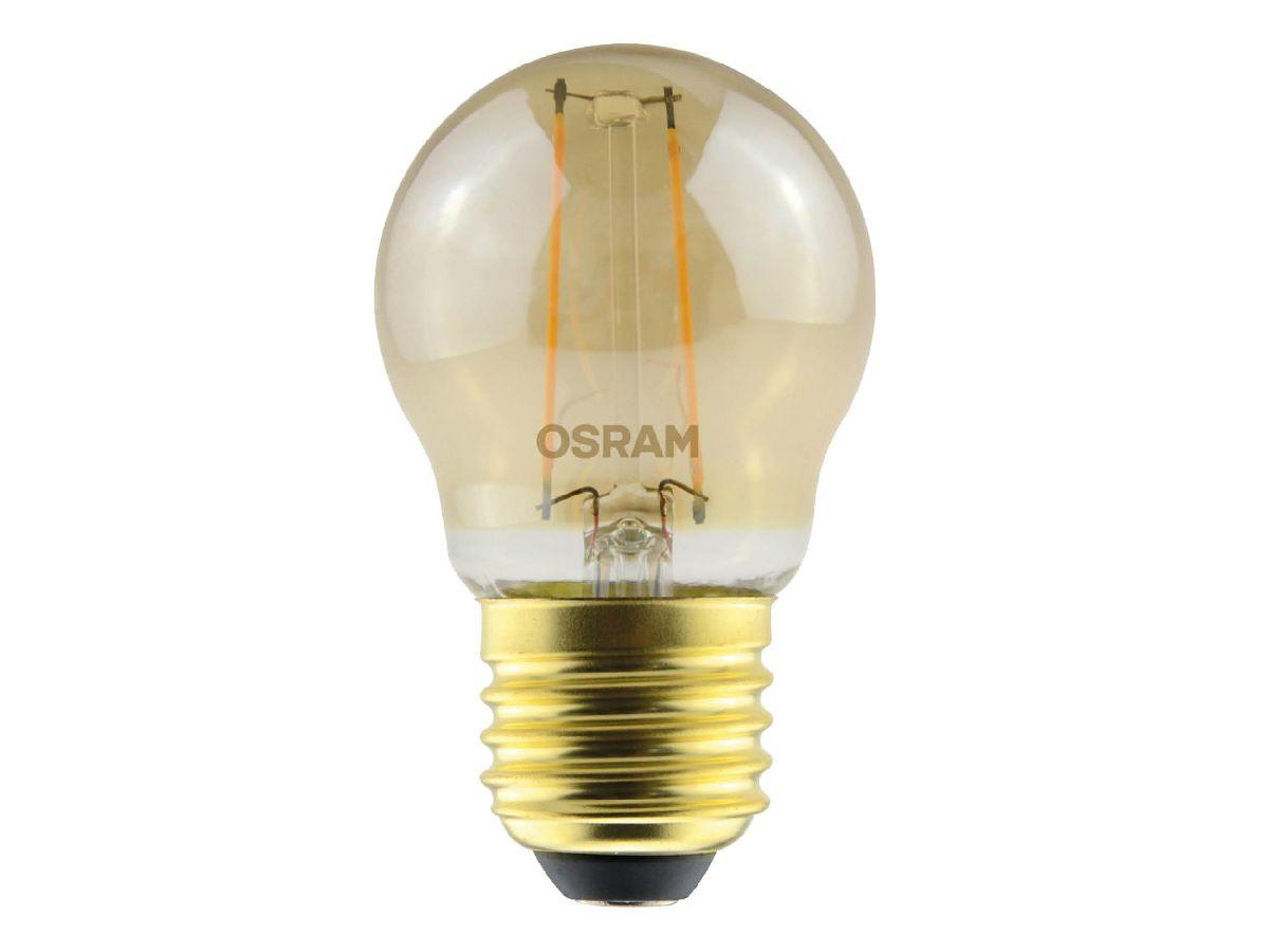 Lâmpada Filamento Led Bolinha 2.5w Retro Vintage Osram