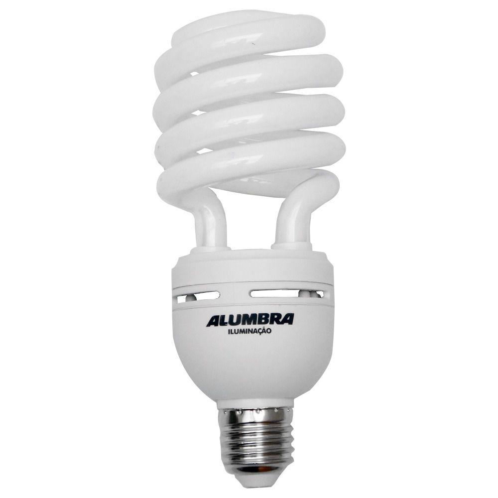 Lâmpada Fluorescente Espiral 127v 30w E27 Alumbra