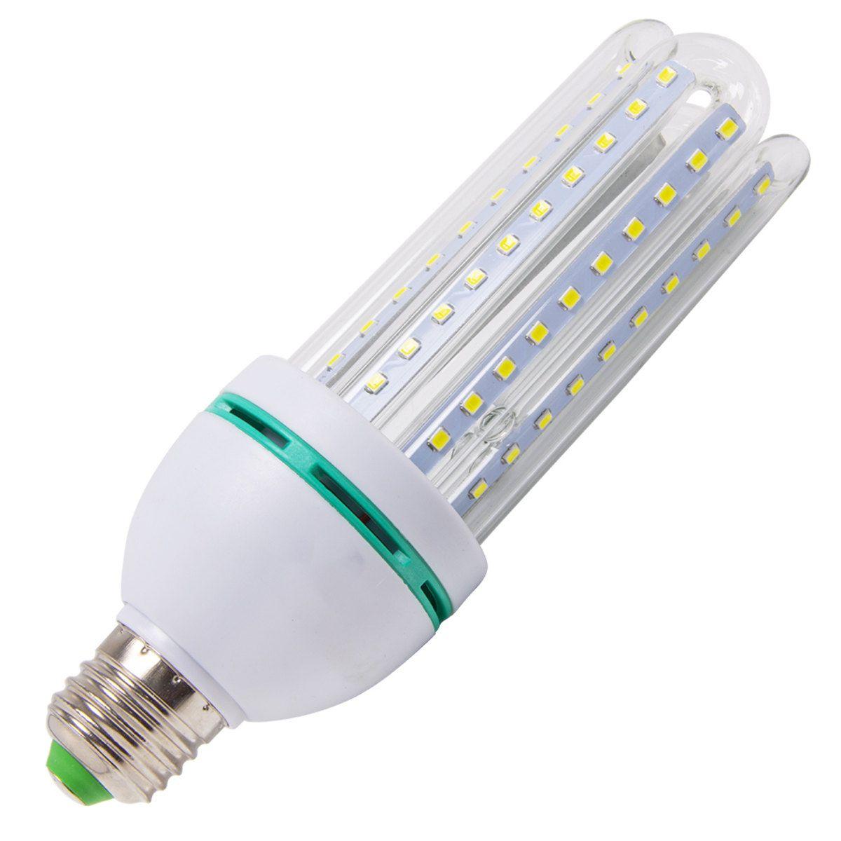 Lâmpada Led Milho 24W 6500K Luz Branca Fria Bivolt Asus