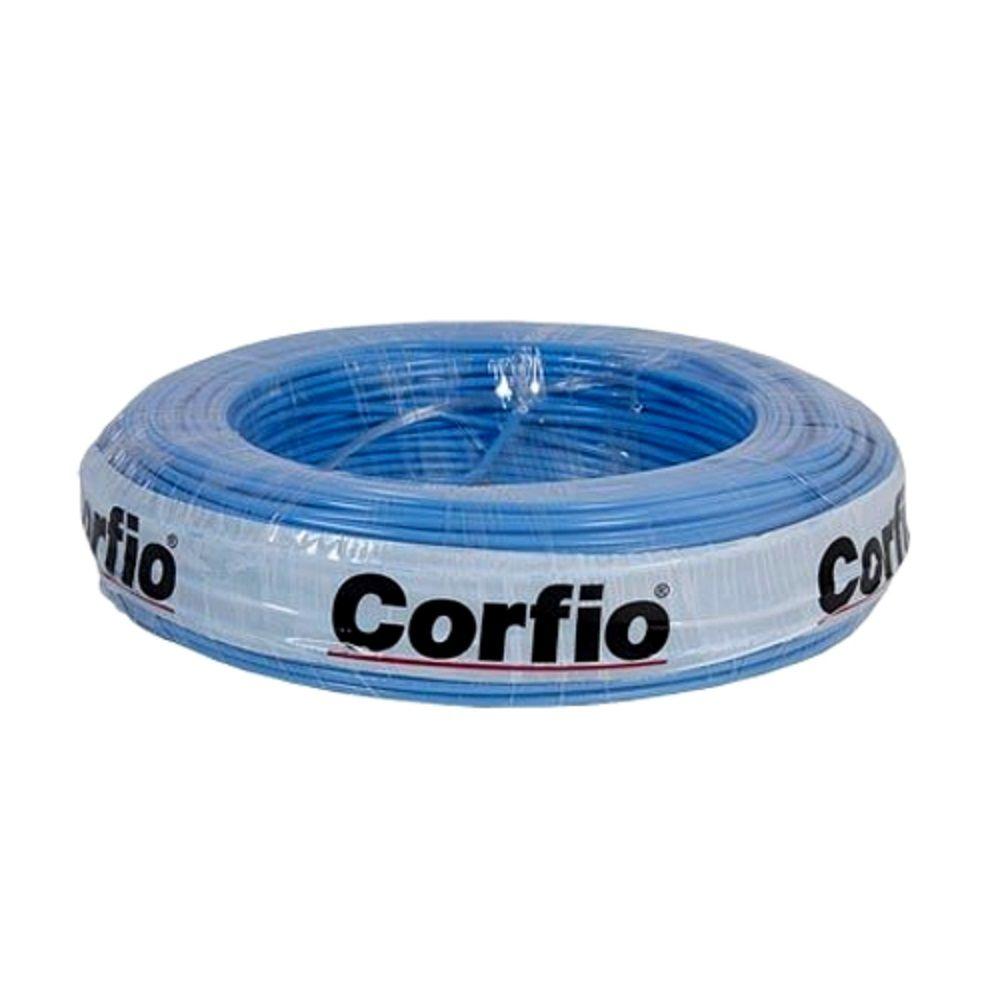 Rolo de Cabo Flexível 1.50mm Azul Corfio