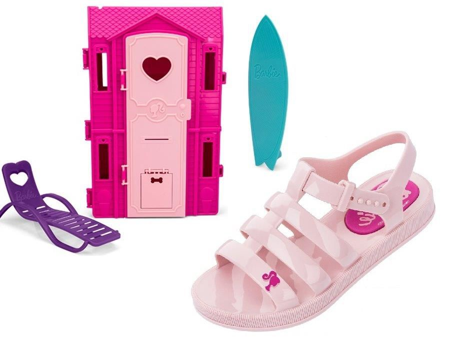 BARBIE DREAMHOUSE SANDALIA INF. 21832