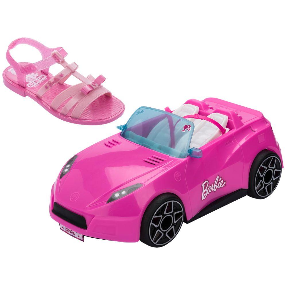 SANDÁLIA BARBIE PINK CAR FEM. INF. 22166 ROSA