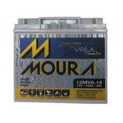 Bateria Estacionária Moura VRLA 12MVA18 - 18Ah