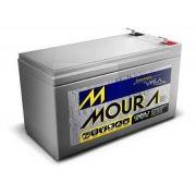 Bateria Estacionária Moura VRLA 12MVA7 - 7Ah