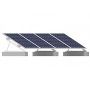Estrutura Solar para 4 placas - Laje