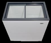 Freezer com tampa de vidro 120L CC 12V / 24V - Junges