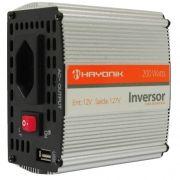 Inversor Off Grid Hayonik 12Vcc/127Vca (200W)