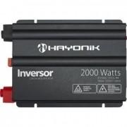 Inversor Senoide Modificada com USB Off Grid Hayonik 12Vcc/127Vca (2000W)
