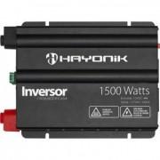 Inversor Senoide Modificada com USB Off Grid Hayonik 12Vcc/220Vca (1500W)