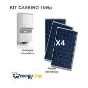 Kit Energia Solar Caseira 1,0KW [Não Instalado]