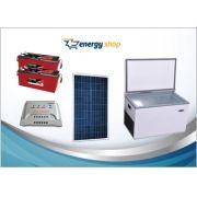 Kit Energia Solar Freezer 100 litros (painel 330W)