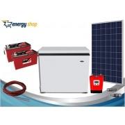 Kit Energia Solar Freezer 100 litros (painel 340W)