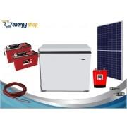 Kit Energia Solar Freezer 100 litros (painel 360W)