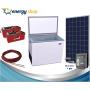Kit Energia Solar Freezer 150 litros (painel 340W)