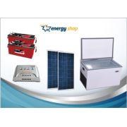 Kit Energia Solar Freezer 300 litros (2xpainel 330W)