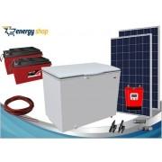 Kit Energia Solar Freezer 300 litros (2xpainel 340W)