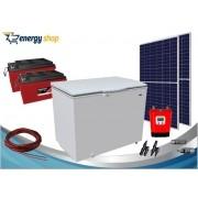 Kit Energia Solar Freezer 300 litros (2xpainel 360W)