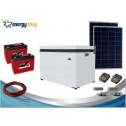 Kit Energia Solar Freezer 70 litros (2xpainel 90W)