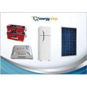 Kit Energia Solar Geladeira Duplex 260 litros (painel 330W)