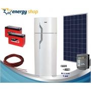 Kit Energia Solar Geladeira Duplex 260 litros (painel 340W)