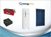 Kit Energia Solar Geladeira Duplex 360 litros