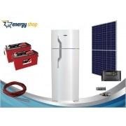 Kit Energia Solar Geladeira Duplex 360 litros (painel 360W)