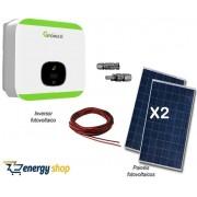 Kit Energia Solar Grid-Tie 0,66kW