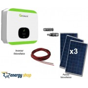 Kit Energia Solar Grid-Tie 1,0kW