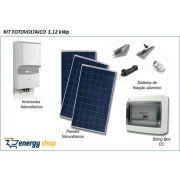 Kit Energia Solar Grid Tie 3,0KW | Instalado