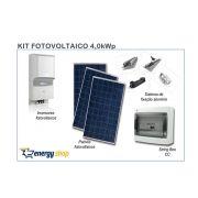 Kit Energia Solar Grid Tie 4,0 kW | Instalado
