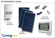 Kit Energia Solar Grid Tie 50,0KW