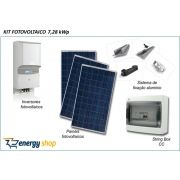 Kit Energia Solar Grid Tie 7KW