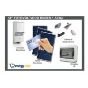 Kit Energia Solar Grid Tie BNDES 1,5 kW | Instalado