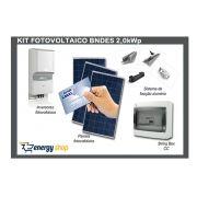 Kit Energia Solar Grid Tie BNDES 2,0KW