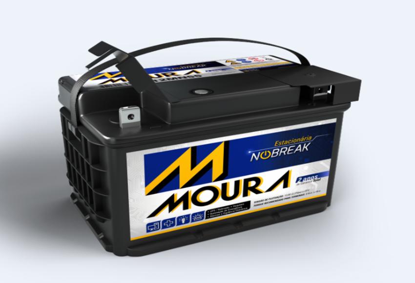 Bateria Estacionária Moura NoBreak 12MN220 (220Ah)