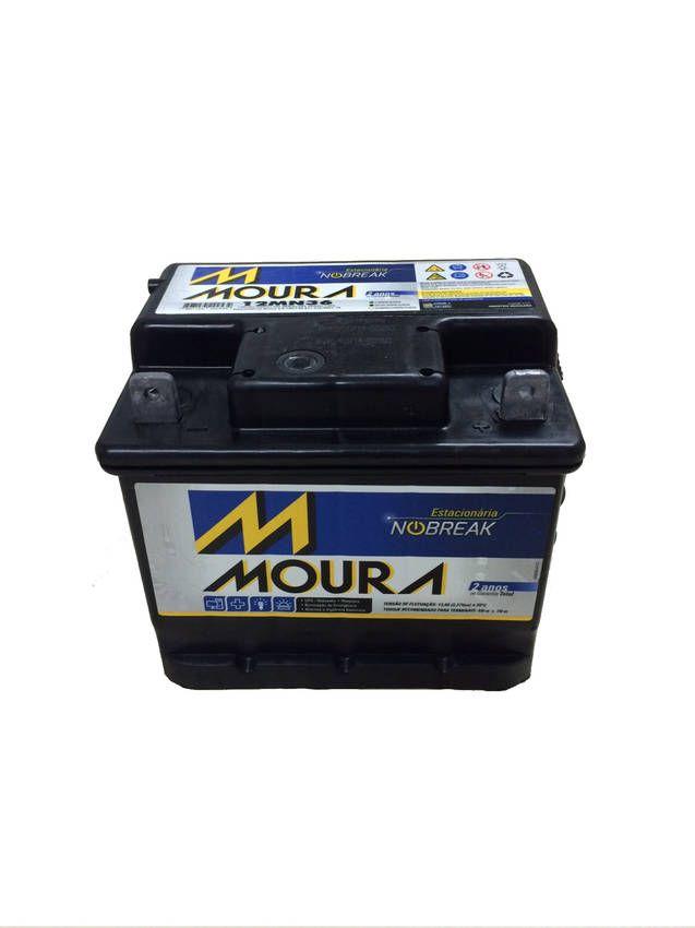 Bateria Estacionária Moura NoBreak 12MN45 (45Ah)