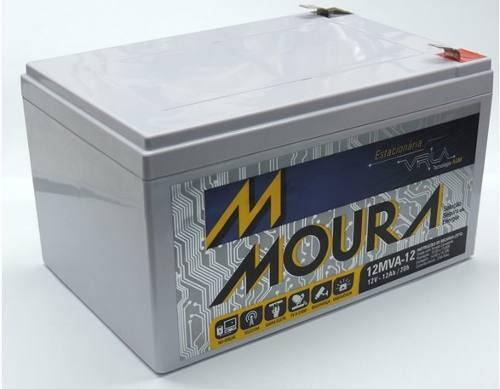 Bateria Estacionária Moura VRLA 12MVA12 - 12Ah