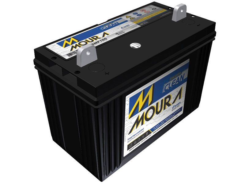 Bateria Solar Moura Clean 12MF105 (105Ah)