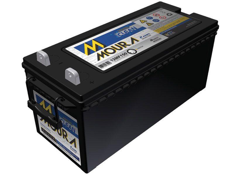 Bateria Solar Moura Clean 12MF150 (150Ah)