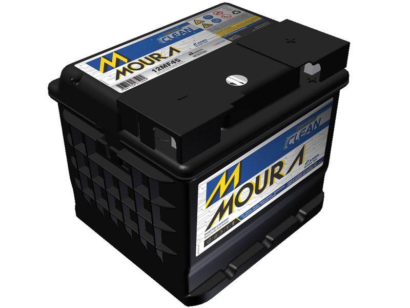 Bateria Solar Moura Clean 12MF45 (45Ah)