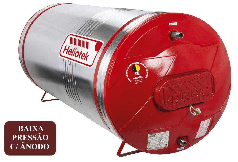 Boiler Baixa Pressão com ânodo Heliotek MKA 300 Litros