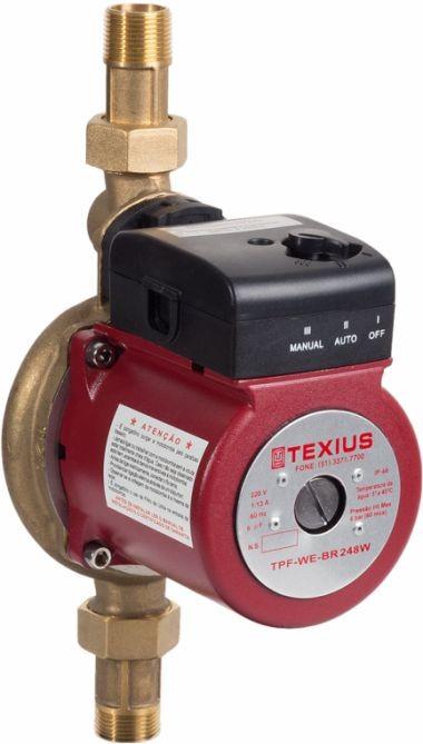 Bomba para Circulação e Pressurização Texius TPF-WE-BR 248W - 220V