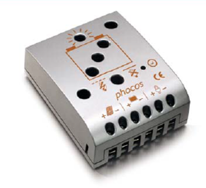 Controlador de Carga Phocos CML10, 10/10A 12/24V
