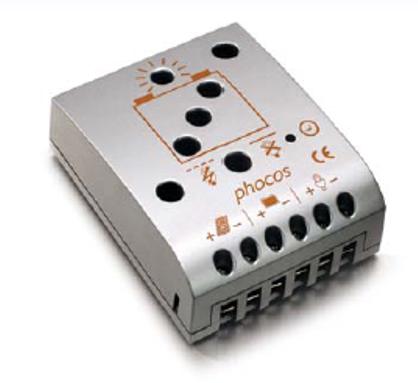 Controlador de Carga Phocos CML15, 15/15A 12/24V